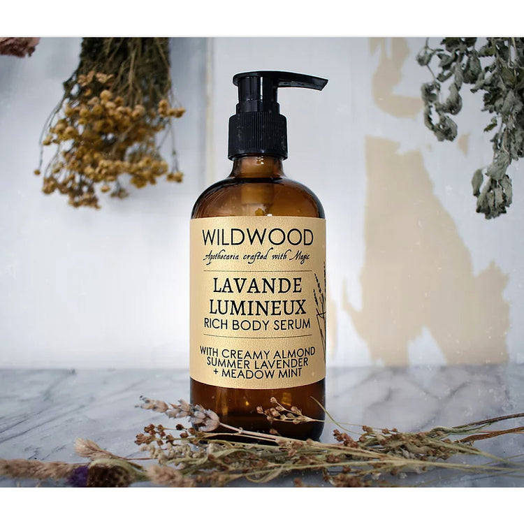 Wildwood Lavande Lumineux Body Serum 4 oz