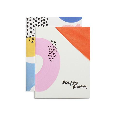 Colorparty Birthday Card By Moglea