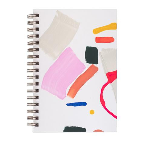 Painted Notebook By Moglea