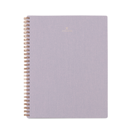 Notebook in Lavender Gray