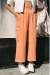 Lounge Cargo Pants in Raw Sienna By Back Beat