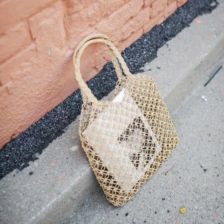Seagrass Mesh Tote Bag