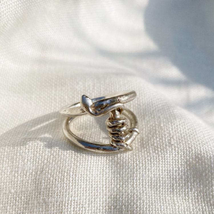 Serpent II Ring By Hawkly