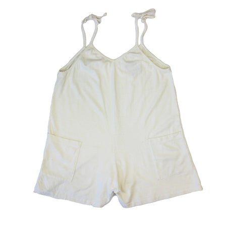 Sespe Romper In Washed White