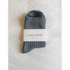 Le Bon Shoppe Her Socks in Slate