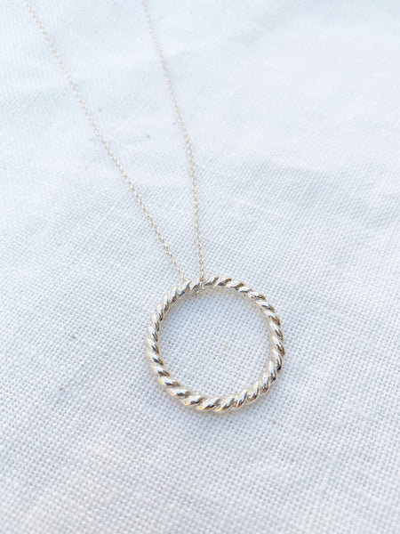 Spiral Necklace By Hawkly