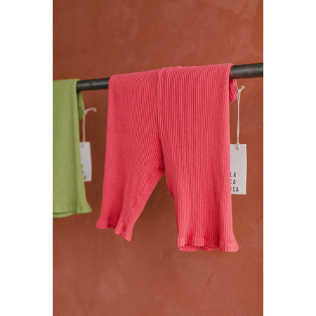 Harley Bike Shorts in Hibiscus By LACAUSA