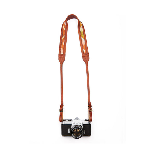 The Classic Nomad Camera Strap x Jolie Laide