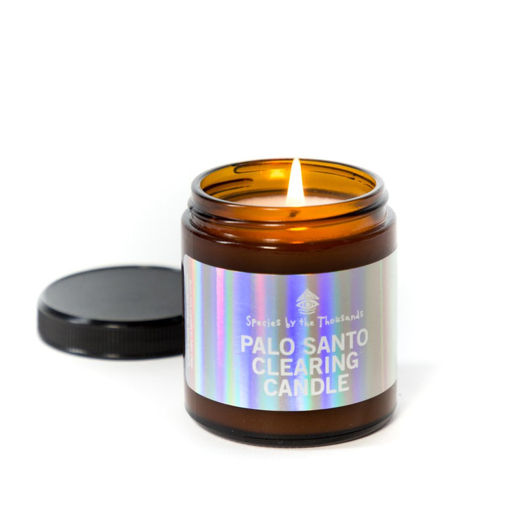 Palo Santo Clearing Candle by Species by The Thousands