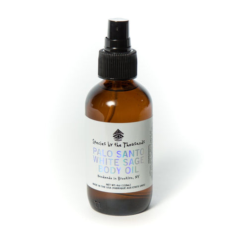 Palo Santo and White Sage Body Oil by Species by The Thousands