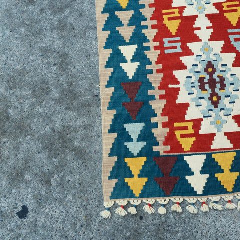 Copy of Vintage Kilim Runner 9.1 x 2.4