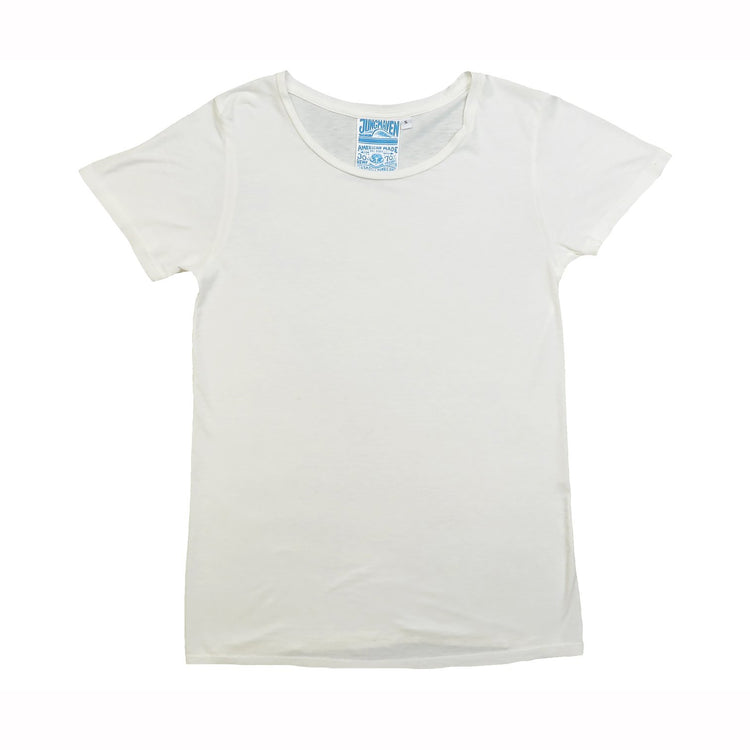 Ojai Tee in Washed White By Jungmaven