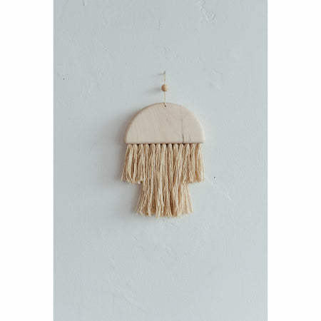 Small Maple Fringe Wall Hanging  By Karcass