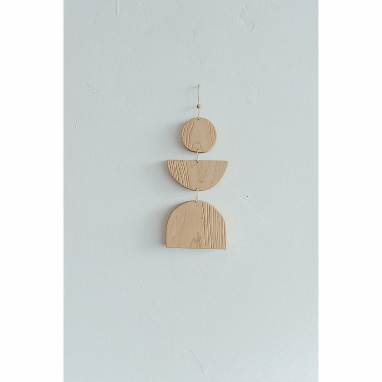 Med Maple Hand Carved Wall Hanging By Karcass
