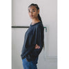 Tig Sweatshirt In Faded Black By Aliya Wanek