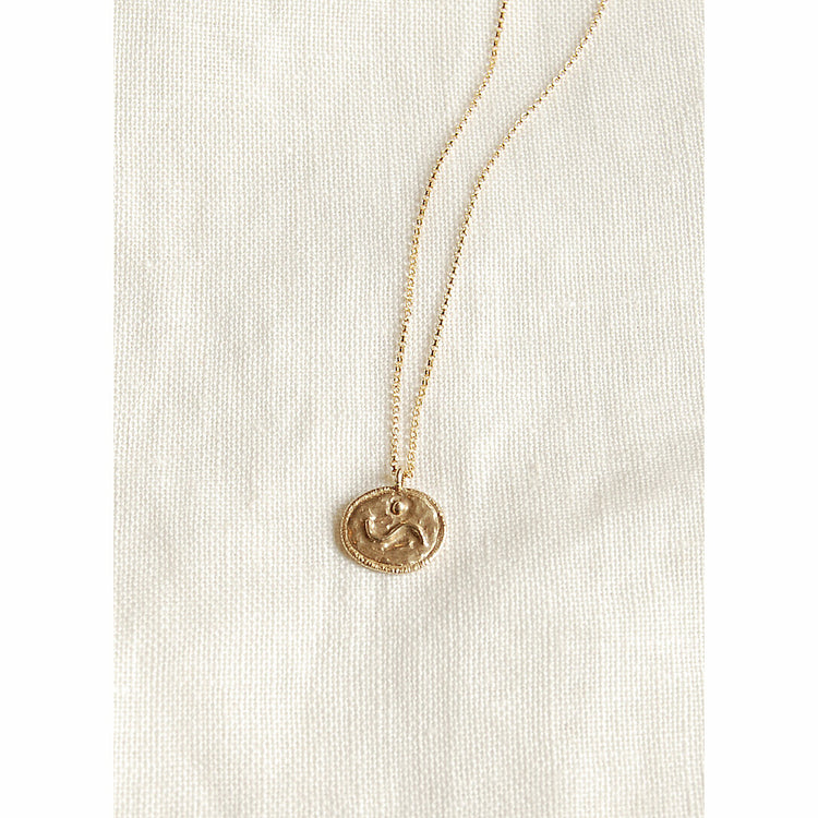 Attune Medallion Necklace By Hawkly
