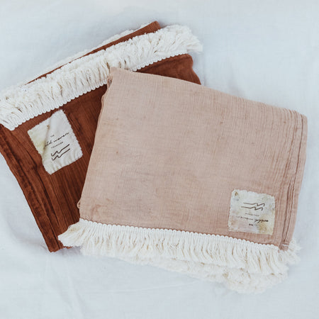 Fringe Blanket By Wild Woven Collection