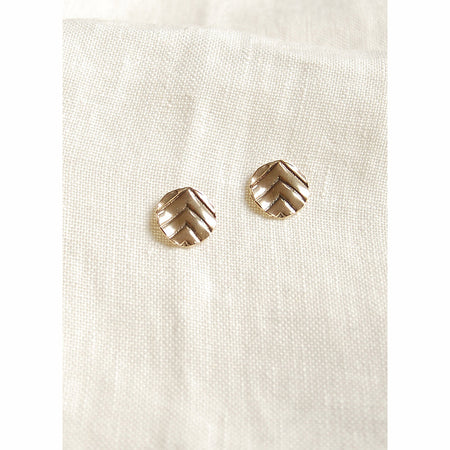 Chevron Studs By Hawkly