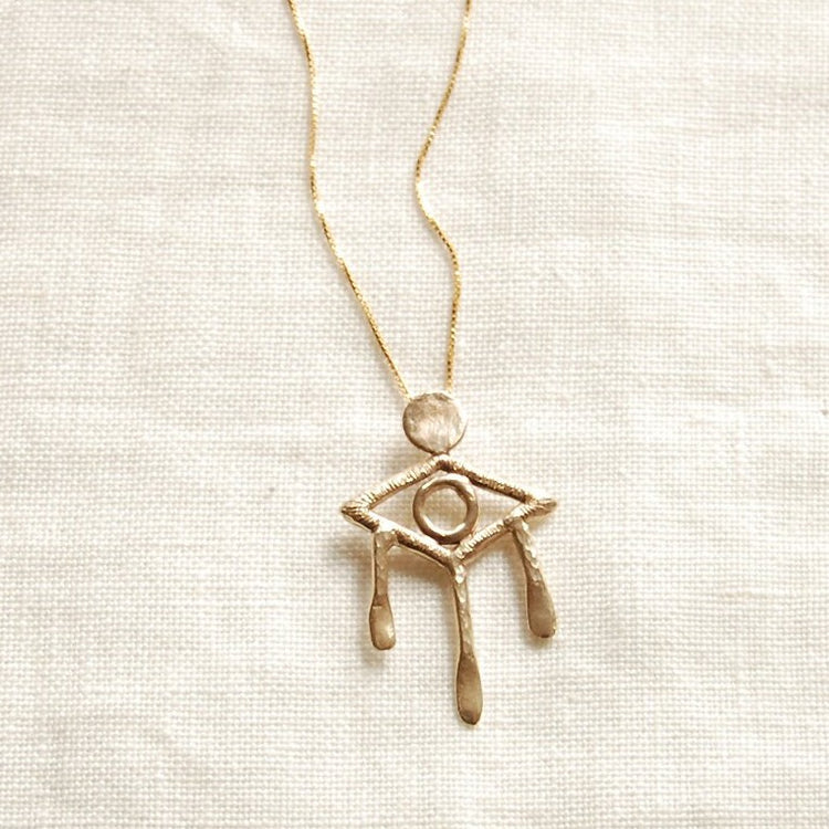 Evil Eye Necklace By Hawkly