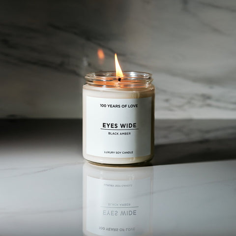 100 Years Of Love Eye Wide  Candle  8oz