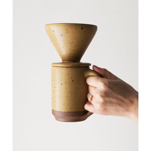 Coffee Pour-Over in Fawn by Lail Design