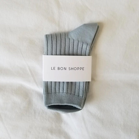Le Bon Shoppe Socks in Blue