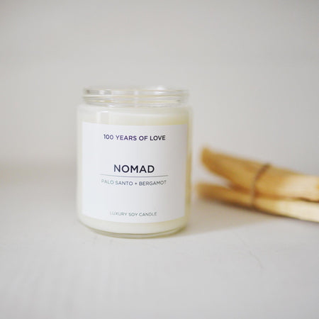 100 Years Of Love Nomad  Candle  8oz