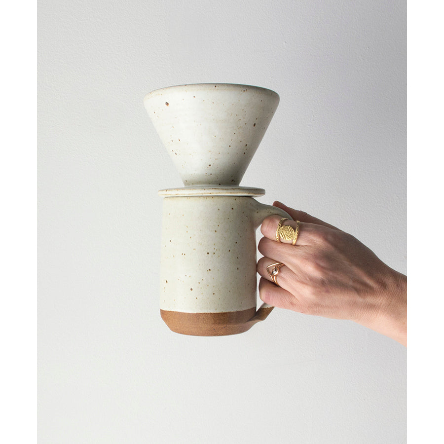 Coffee Pour-Over in Bone by Lail Design