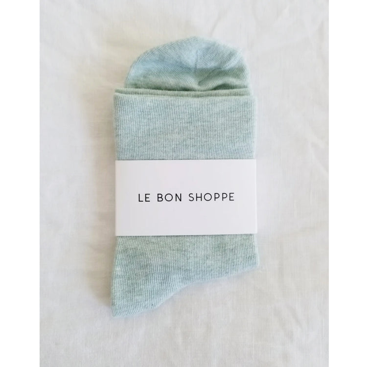 Le Bon Shoppe Sneaker Sock in Sea foam