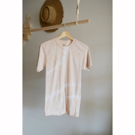 Wild Woven x The Wanderly Botanically Dyed Tee With Madder Root