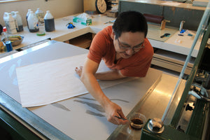 The Cape Dorset - Kinngait Print shop in images