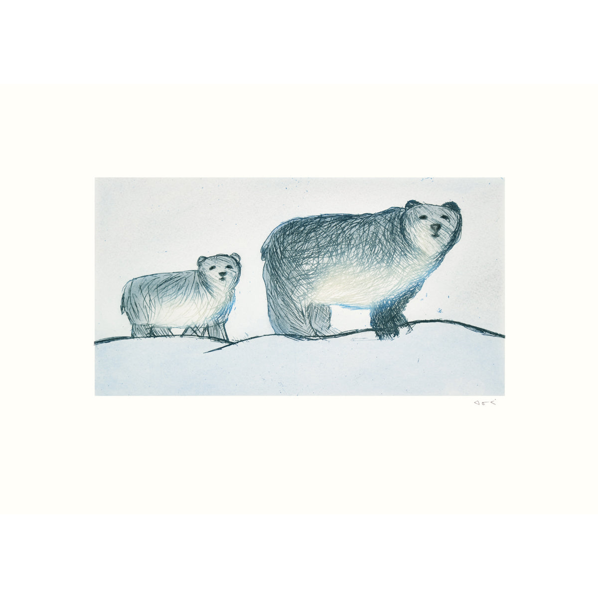 Roaming Bears by ANNIE PARR - $350