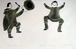 Drum Dance by Elisapee Ishulutaq 1972