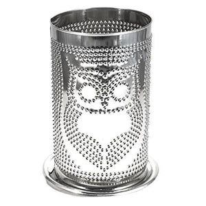 Candle Shade Punched Shade -Owl