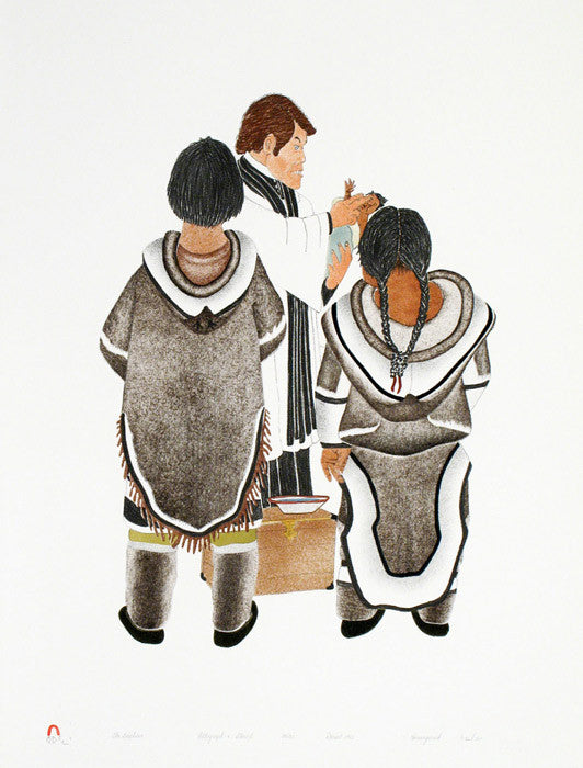 THE BAPTISM by Kananginak Pootoogook