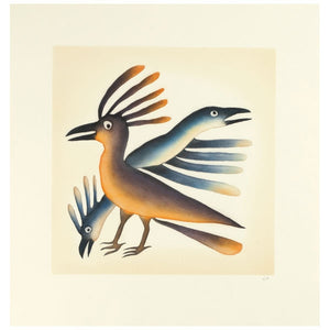 Alerted Birds by Kenojuak Ashevak