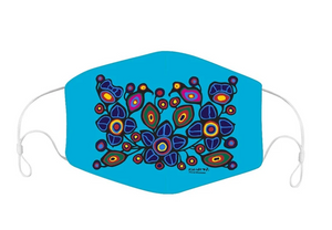 Norval Morrisseau Flowers and Birds Reusable Face Mask