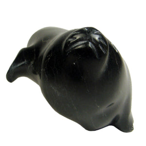 Seal by Isaac Qumak inuit carving