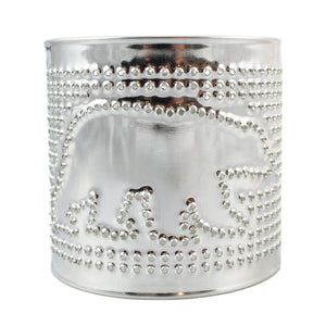 Tealight Tin Punched Shade Bear
