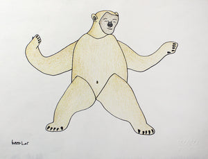 Bear Transformation by Qavavau Manumie