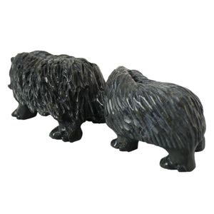 Muskox by Kelly Etidloie inuit art