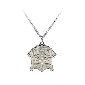 Platinum Necklace - Frog by Corey W. Moraes