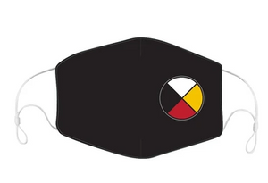 Medicine Wheel Reusable Face Mask (3 masks package)