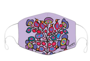 Norval Morrisseau Woodland Floral Reusable Face Mask (3 Masks Package)