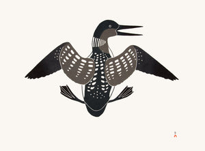 Attempted Flight by Kananginak Pootoogook