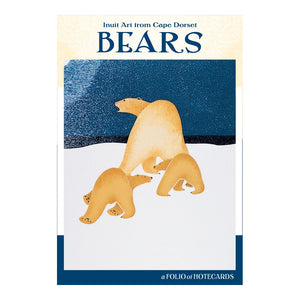 BEARS: INUIT ART FROM CAPE DORSET NOTECARD FOLIO