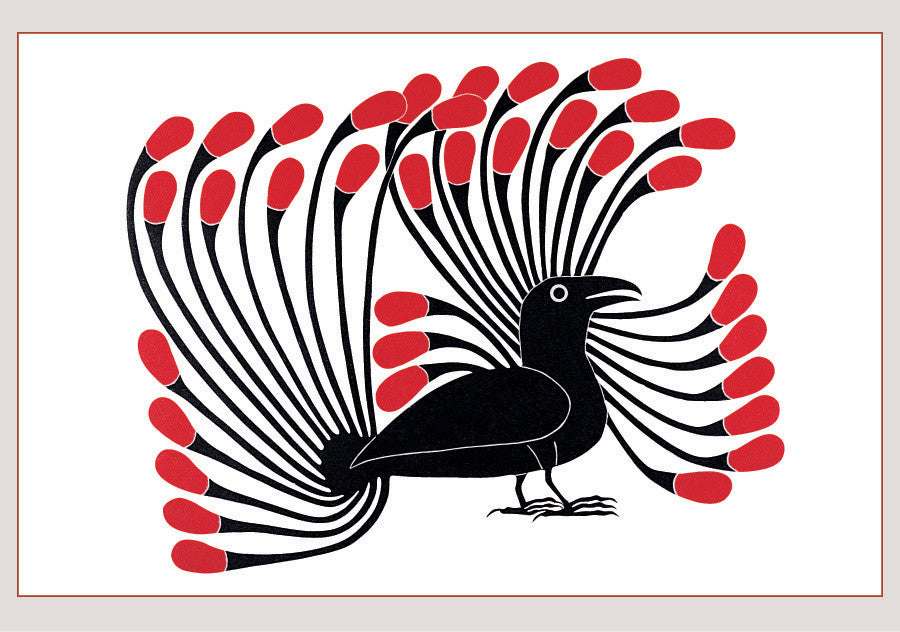 RAVEN DANCE: INUIT ART FROM CAPE DORSET BOXED NOTECARDS