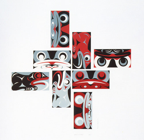 Pacific Spirit 2000 (Frogs) by Susan Point
