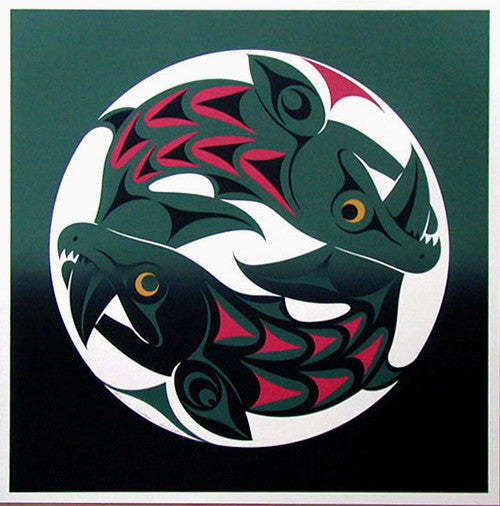 Sockeye by Susan Point