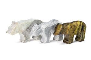 BEAR SOAPSTONE CARVING KIT